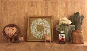 ハロウィンの飾り棚 halloween4
