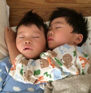 仲良し兄弟のお昼寝 brothers2