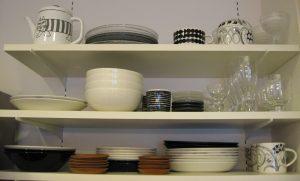 cupboard 北欧食器の食器棚