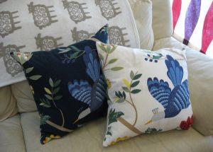 ボラスのバードランドのクッションカバー birdland-cushion
