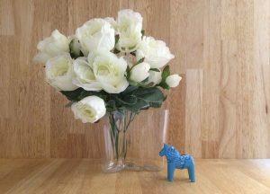 花瓶とダーラナホース dalarna-horse2
