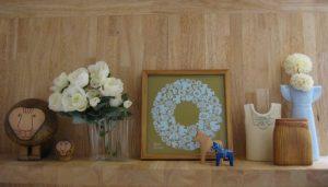 北欧の飾り棚初夏 display-shelf-1