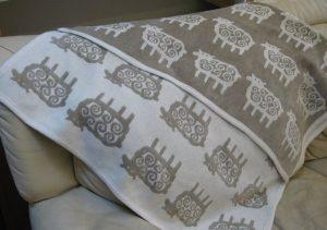 クリッパンのブランケット klippan-blanket
