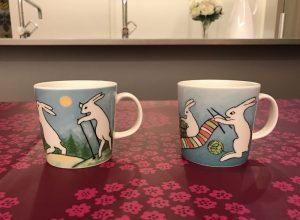 アラビアヘルヤうさぎのマグカップ mug7