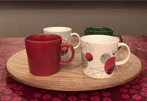 クリスマス風にヒンメリマグカップ mugs10
