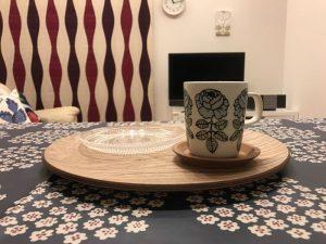 愛するマリメッコのヴィヒキルースマグカップ blue-mug2
