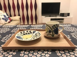 カラーパラティッシ・イエローパラティッシマグカップ blue-mug4