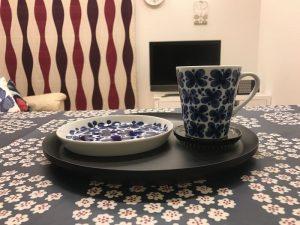 和風美人のロールストランドモナミマグカップ blue-mug5