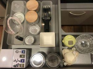 キッチンのメインの引き出しの収納力 clean-goods2
