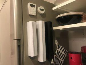 冷蔵庫にイデアコラップホルダー clean-goods4