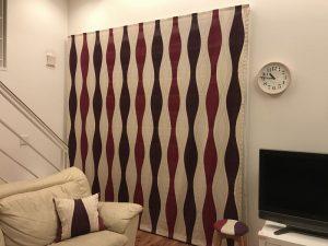 ボラス・ロックのカーテン fabric2