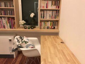 書斎風スペース library1