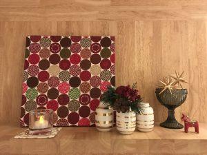 ケーラーオマジオ、クリスマス限定ゴールドフラワーベースを迎えたクリスマスバージョンの北欧飾り棚 omaggio-vase-gold9