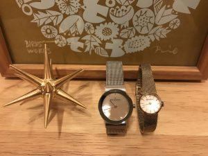 スカーゲンとマーガレットハウエルの腕時計 skagen6