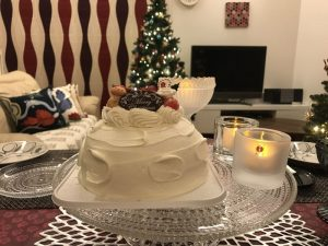 クリスマスケーキとkivi 2016-christmas-eve7