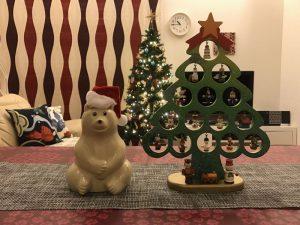 しろくまとクリスマスツリー 2016-christmas-eve8