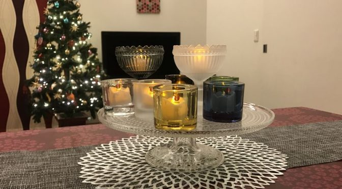 2016年のクリスマス・イブはお気に入りのkiviを散りばめた癒しのディナー