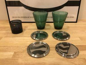 イッタラ・サルパネヴァ コースター4枚セットとkiviレイン、そしてカステヘルミタンブラー 2016new-years-eve-thanks3