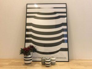 ケーラー・オマジオのポスターと花瓶 kahler-omaggio-poster3