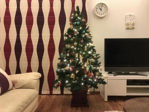 クリスマスツリーにツリートップ使用前 supersale-treetop-masterchess3