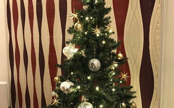 2017年フライングタイガーなクリスマスツリー